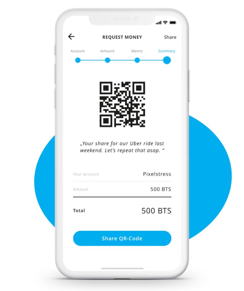 Anforderung einer Zahlung innerhalb der App